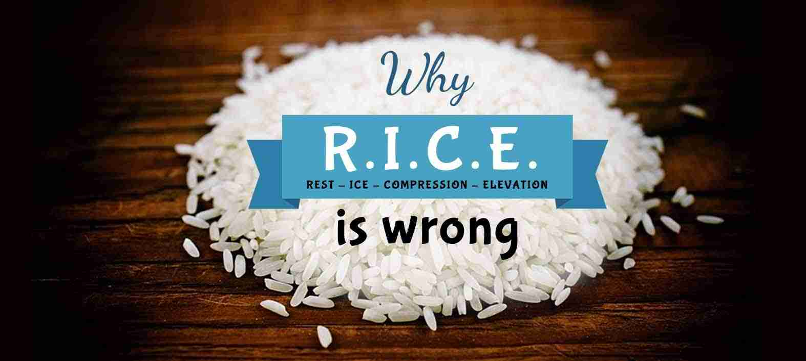 Rest Ice Compression Elevation – is Wrong