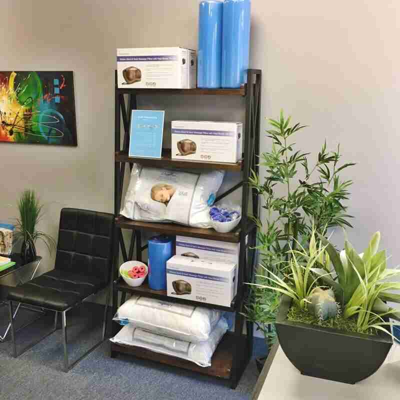 Chiropractor Oakville - product display area - Mobility Plus Chiropractic