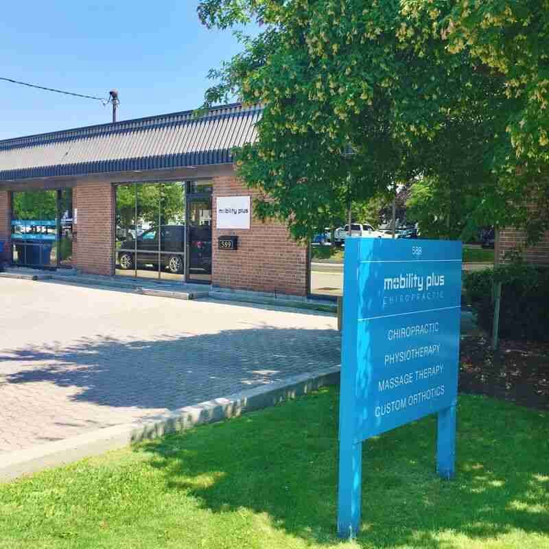 Oakville Chiropractor Clinic exterior - Mobility Plus Chiropractic