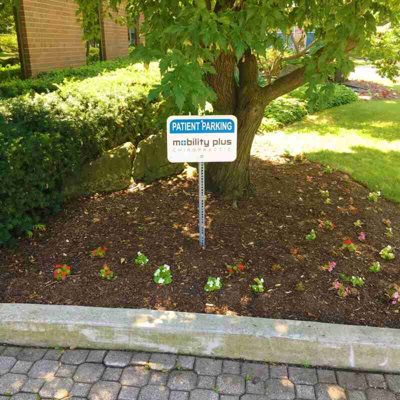 Patient parking at Oakville chiropractic clinic - Mobility Plus Chiropractic